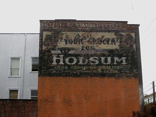 Ghost Sign - Ask Your Grocer for Holsum | by brewbooks