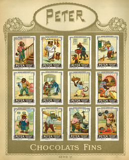 Chocolats PCKN / Album Timbres / Peter Serie VI | by micky the pixel