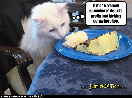 Birthday Funny Cake Photo