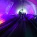 Trippy tourist tunnel in Shanghai