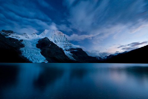 Berg Lake Twilight | by Jeff Pang