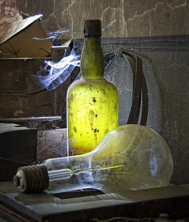 Bottle with light | by uhx72