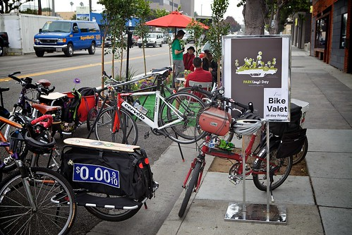 Bike Parking And Valet Is Setup | by Gary Rides Bikes