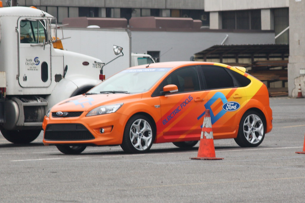 Focus St Towing >> Electric Ford Focus! | This car may or may not be the same o… | Flickr