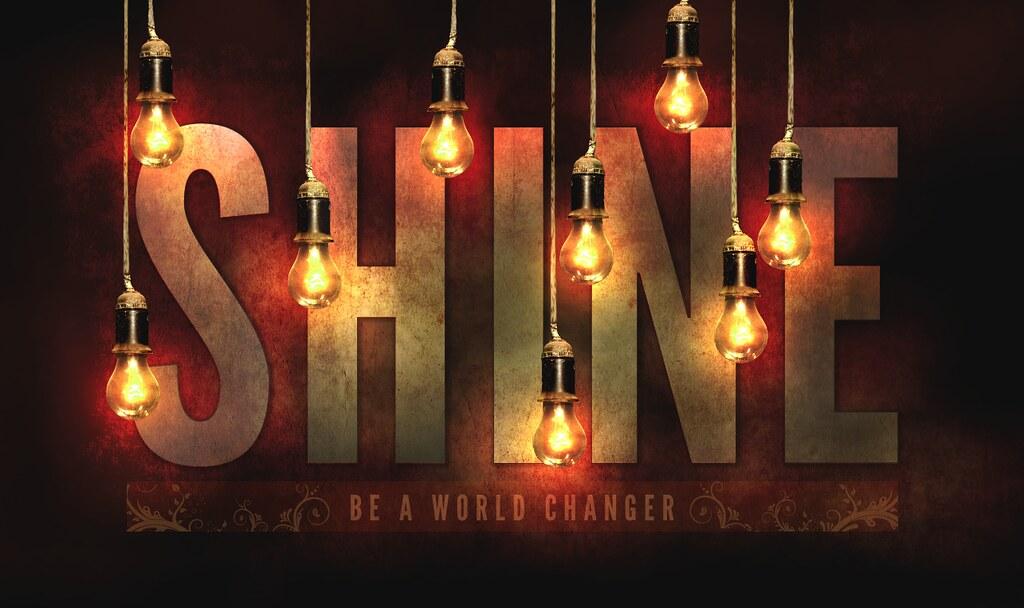 Shine Key Art For A Freelance Client The Light Bulbs