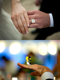 Lego wedding ring | by colormekatie