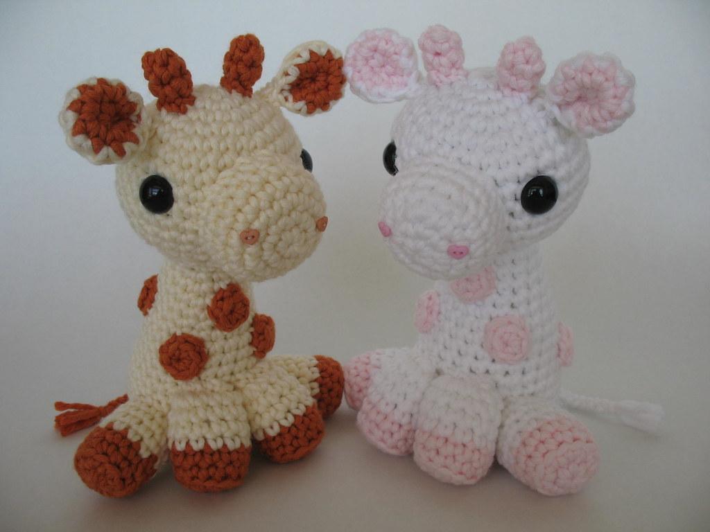 Amigurumi Baby Giraffes | Pattern available! www.djonesgirlz… | Flickr