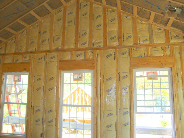 Fiberglass batt insulation 1 flickr photo sharing R value of fiberglass batt insulation