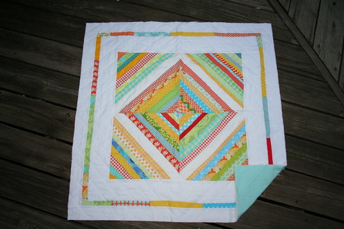Summery String Quilt | by katie@swimbikequilt
