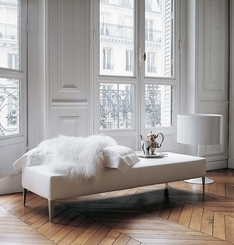 white, wood, fur | by Anna @ D16