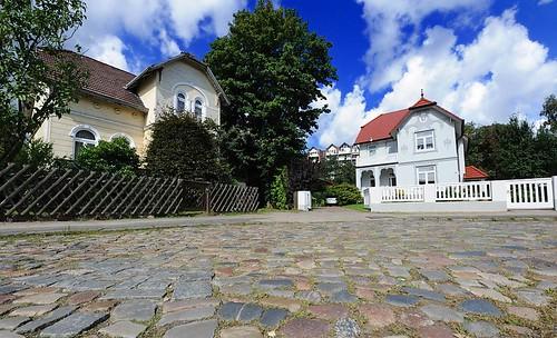 7161 kopfsteinpflaster in der rahlstedter bruhnsallee vil flickr - Gartenzaun hamburg ...