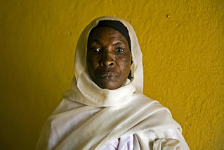 Sudanese Nurse in Reopened Clinic | by United Nations Photo