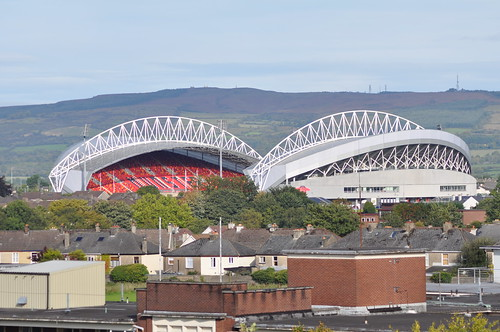 Thomond Park Cathedral with Clare hills behind | by swordscookie back and trying to catch up!