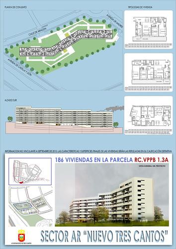 Rc vppb 1 3a panel 186 vivs 600 viviendas ayuntamiento de tres cantos flickr - Vppb tres cantos ...