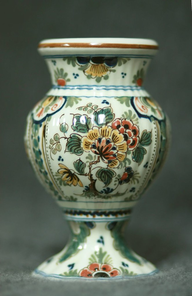 Royal Delft Vase I Found This On My First Visit To The Ora Flickr