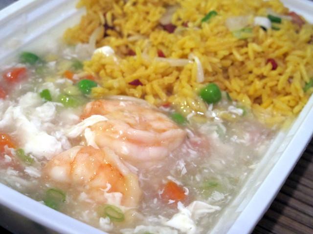 Shrimp with Lobster Sauce & Pork Fried Rice | Flickr - Photo Sharing!