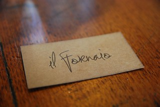 Business card - Il Fornaio | by avlxyz