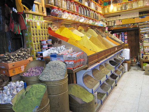 spice market in Morocco | by Aromahead Institute