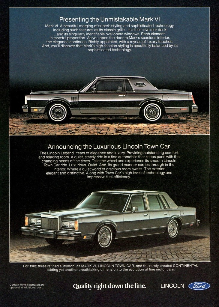 1982 lincoln mark vi amp town car alden jewell flickr