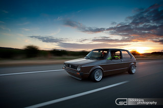"James' Mk1 Rabbit 2.0T on 13"" Smoor Roadsters 