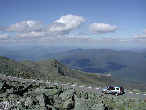 Departing the summit | by Mt.Washington Auto Road