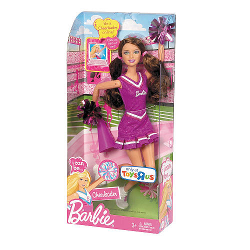 Toys For Cheerleaders : Barbie i can be a cheerleader brunette found in toys r