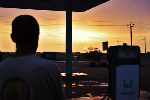 Petrol Station Sunrise | by BetterLifeCycle
