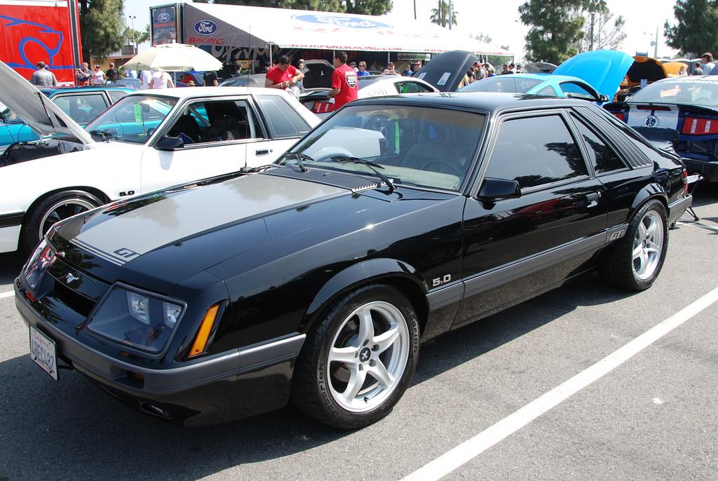 Ford Mustang 5 0 Gt Foxbody Hatchback With Svt Cobra R Whe