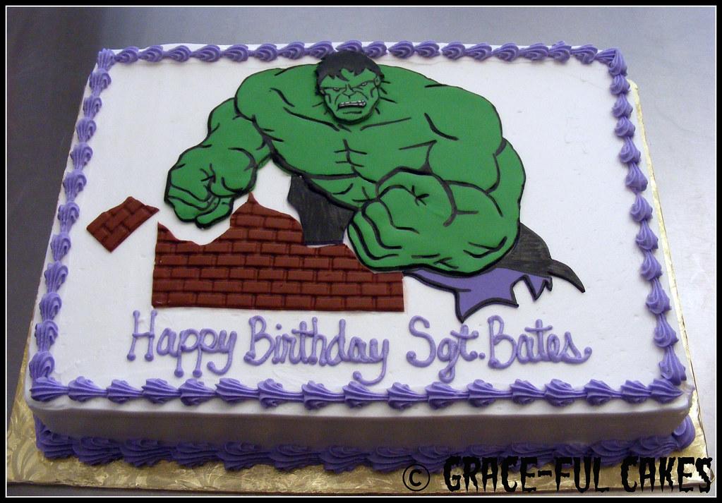 Cake Design Hulk : Hulk Cake 1-3 www.grace-fulcakes.com gigiguel@yahoo.com ...
