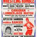 wrestling poster, hastings
