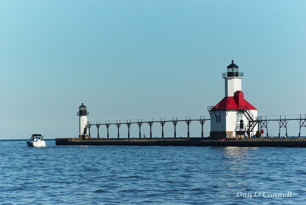 St Joseph Benton Harbor Mi Lighthouse This Is One Of