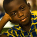 Young student in Ghana