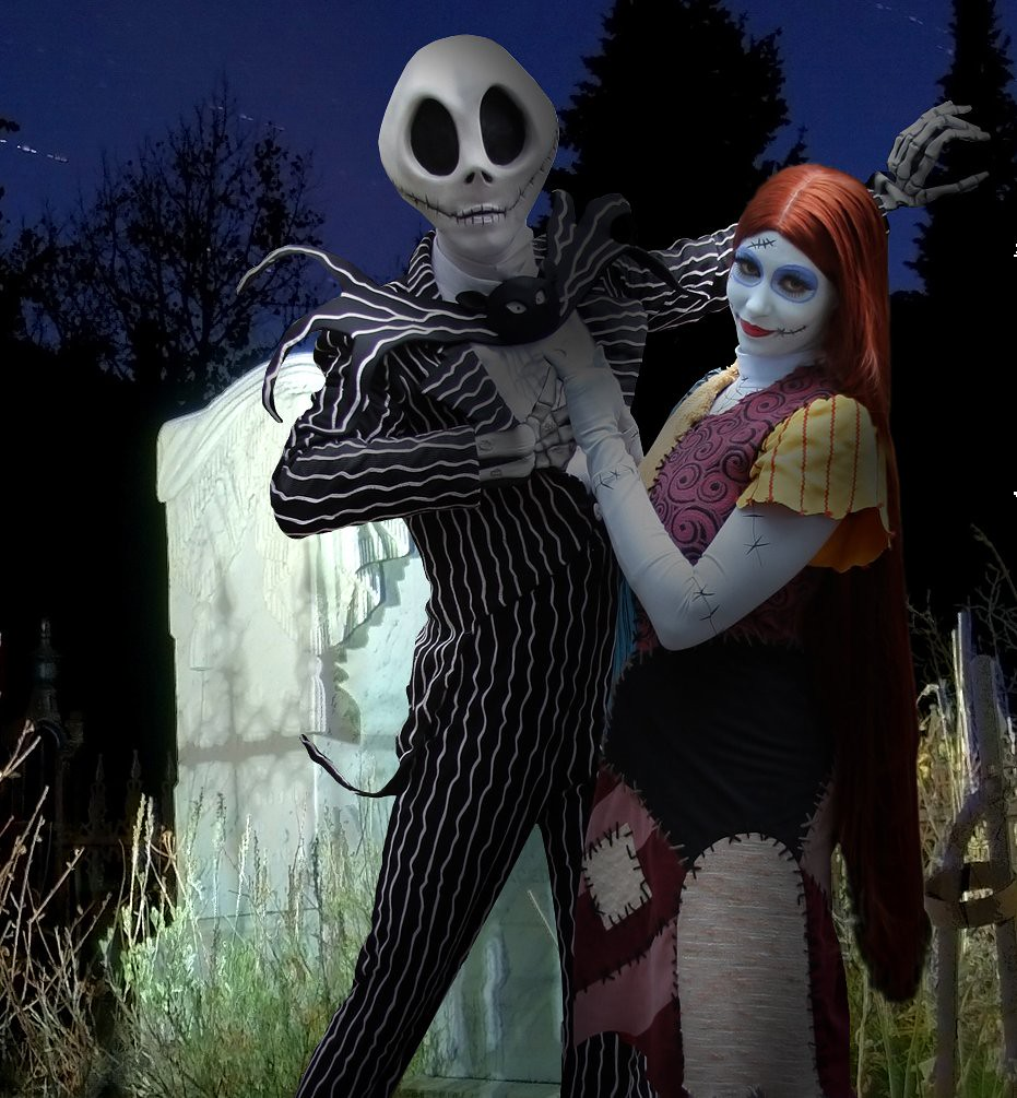 Jack Skellington and Sally • A Nightmare Before Christmas | Flickr
