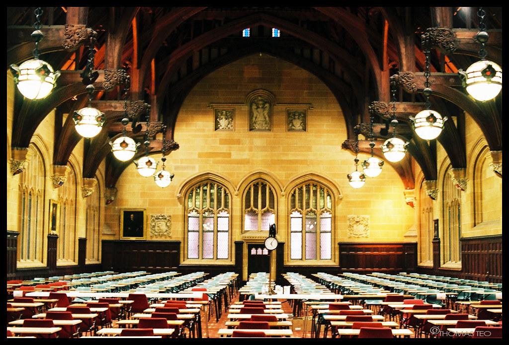 MacLaurin Hall | MacLaurin hall in it's exam hall mode ...