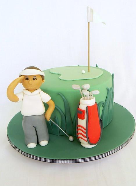 Golfing Cake Tutorial