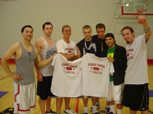 Winning Team for the Basketball Tournament | by California State University Channel Islands