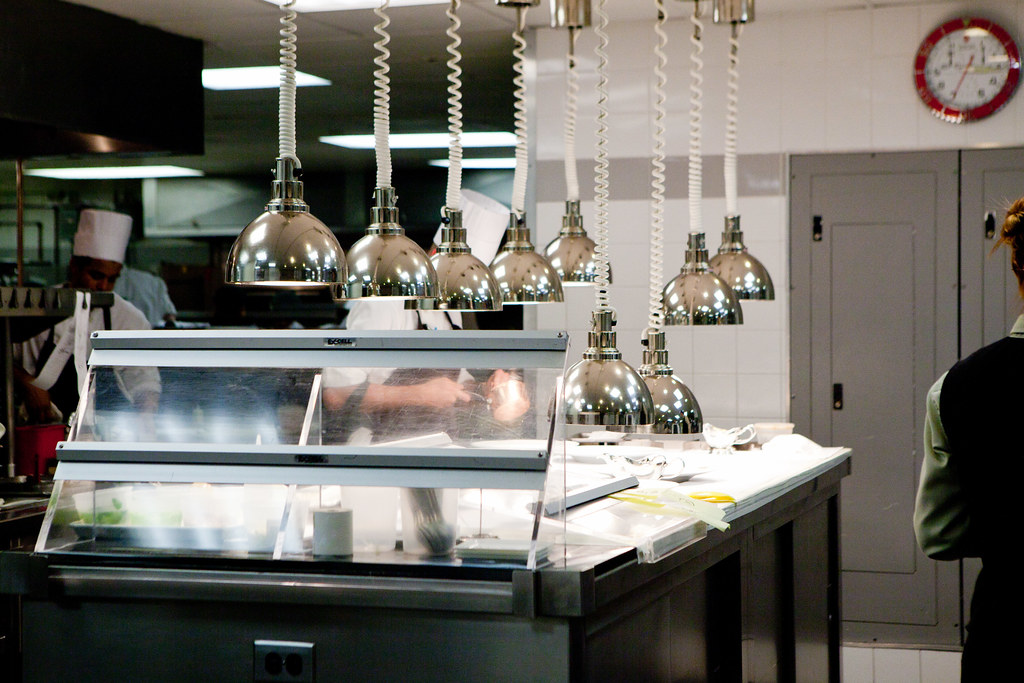 Inside The Kitchen Heat Lamps Plating Station Eleven