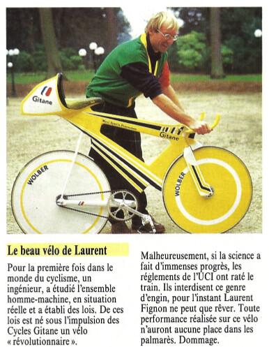 Gitane fignon maxi sports miroir du cyclisme 394 mai for Miroir du ciclisme