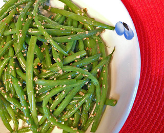 Thanksgiving Sesame Green Beans | by Micaela Vega