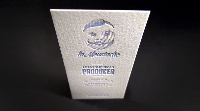 La moustache business card for creative film production co flickr la moustache by elegantepress la moustache by elegantepress colourmoves