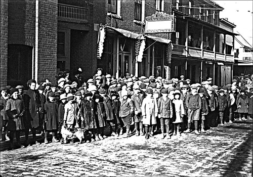 Crowd of Children in Keene New Hampshire | by Keene and Cheshire County (NH) Historical Photos