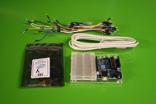 'Beginners Arduino & Physical Computing' Omniversity course components | by MadLabUK