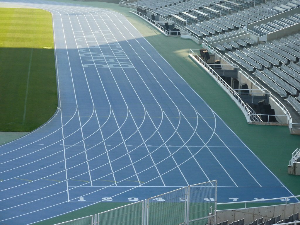 Olympic Stadium Barcelona Running Track | Olympic Stadium