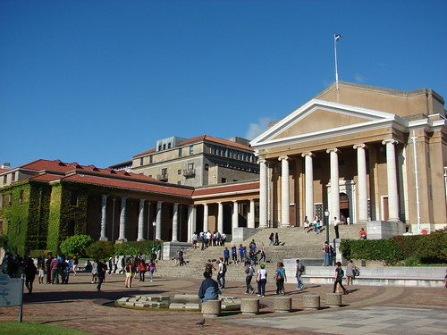 Jameson Hall at the University of Cape Town | by barbourians