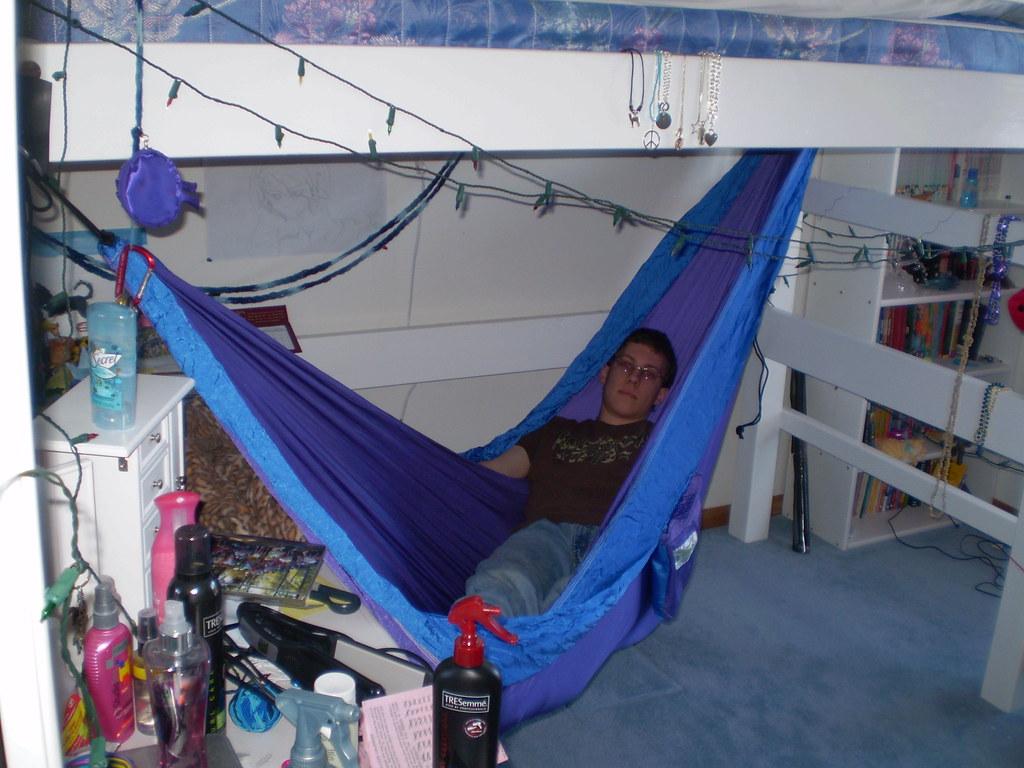 Loft Bed Hammock Setup Nick Merritt Nick Merritt Uses