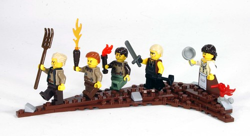 Angry peasant mob | by Ryan Howerter