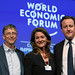 Bill & Melinda Gates, David Cameron - World Economic Forum Annual Meeting 2011