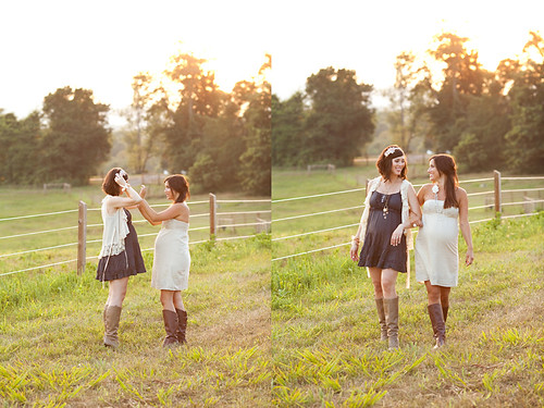 Lauren and Kristin~ Editorial Maternity Shoot | by Kellan Studios