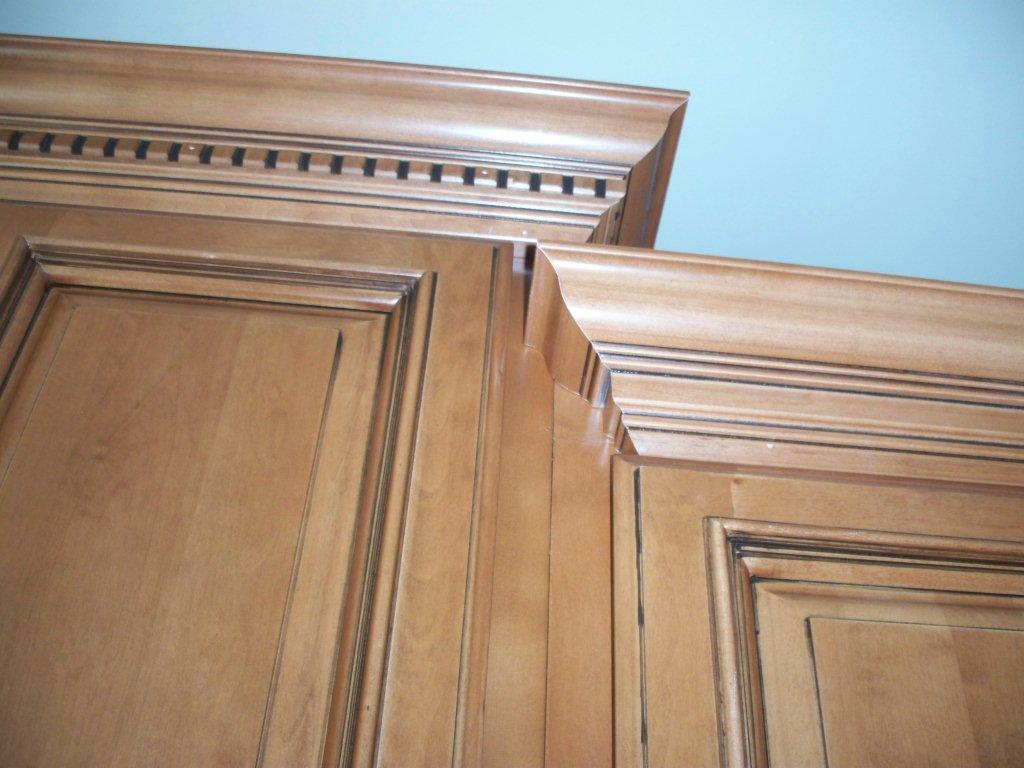 Crown moulding cabinets