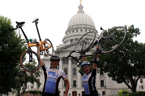 Alzheimer's Breakthrough Ride: Rong Wang and Stephanie Soscia | by actionalz